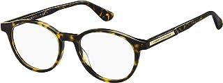 اطار نظارة طبية للرجال من تومي هيلفجر بلون هافانا داكن مقاس 49/18/145، طراز TH 1703