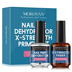 Morovan Nail Prep Dehydrator and Nail Primer X-strength