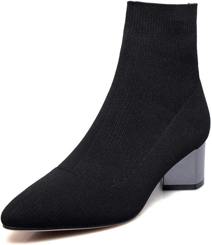 AdeeSu Womens Nubuck Warm Lining Solid Urethane Boots SXE04787