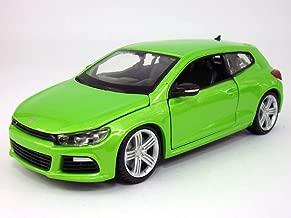 Bburago Volkswagen Scirocco R 1/24 Scale Diecast Model - Green