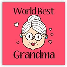 Yaya Cafe for Grandmother World Best Grandma Fridge Magnet - Square