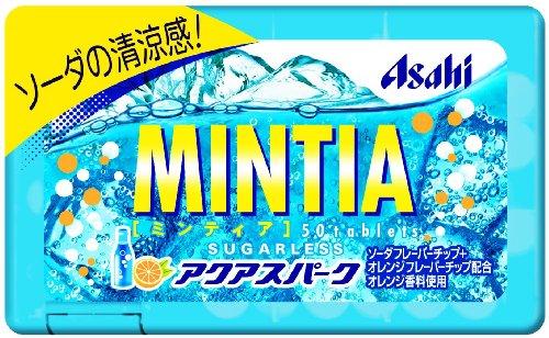 アサヒグループ食品 ミンティア アクアスパーク 50粒(7g)×10個