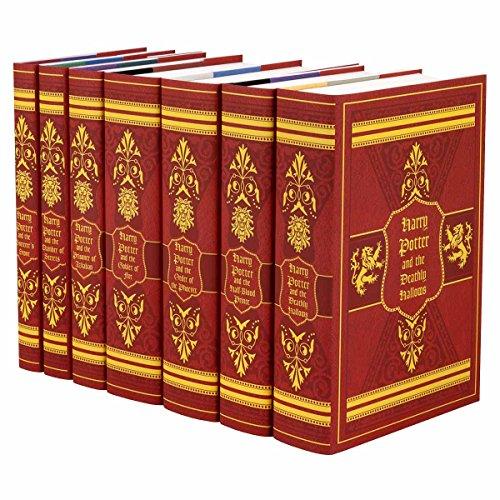 Harry Potter Gryffindor House Boxed Set   Seven-Volume Hardcover Book Set with Custom Designed Juniper Books Dust Jackets   Author J.K. Rowling