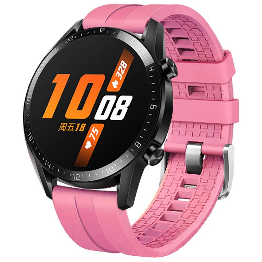 para Huawei Watch GT2 46 mm Smart Watch Pulsera de Silicona omicky ...