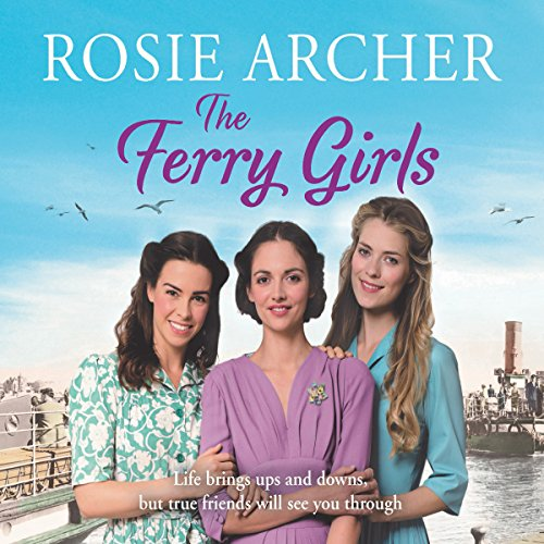 The Ferry Girls audiobook cover art