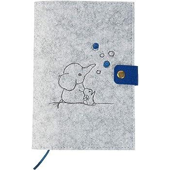 Uheft H/ülle /& Impfpass H/ülle Set, U Heft H/ülle Tiere Uheft Set personalisiert, Pinguin Rosa