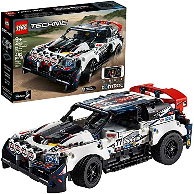 LEGO Technic App-Controlled Top Gear Rally Car 42109 (new 2020)