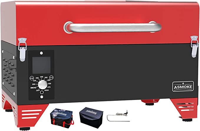 ASMOKE AS300 Electric Tabletop Grill and Smoker - Best Portable Smoker