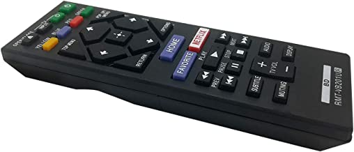 New Replacement RMT-VB201U Remote Control for Sony Blu-ray Player BD Disc DVD BDP-S1700 BDP-S3700 BDP-BX370 UBP-X700 BDPS3...