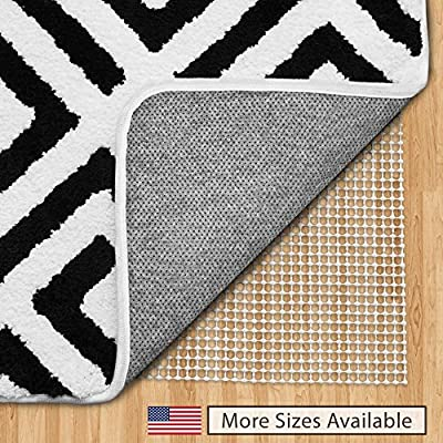Gorilla Grip Original Area Rug Gripper Pad, Made in USA, for Hard Floors, Pads Available in Many Sizes, Provides Protection and Cushion for Area Rugs and Floors