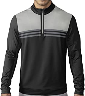 adidas Golf Men's Climacool Color Block 1/4 Zip Layering Top