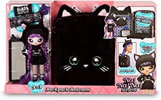 Na! Na! Na! Surprise Na Backpack Bambole Fashion, Colore Black [Versione Giochi Preziosi], NAA04210