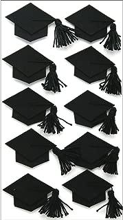 Jolee's Boutique Dimensional Stickers, Black Graduation Cap