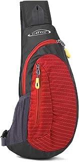 (Red) - G4Free Sling Bags Men Shoulder Backpack Mini Chest Day Bag Kids Small Cross Body