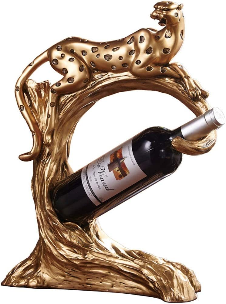 ZHONGTAI Wine Racks Countertop Rack Wi Leopard Limited time trial price Houston Mall Freestanding