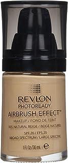 Revlon PhotoReady Airbrush Effect Makeup, Natural Beige