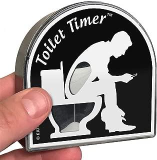 toilet timer gag gift