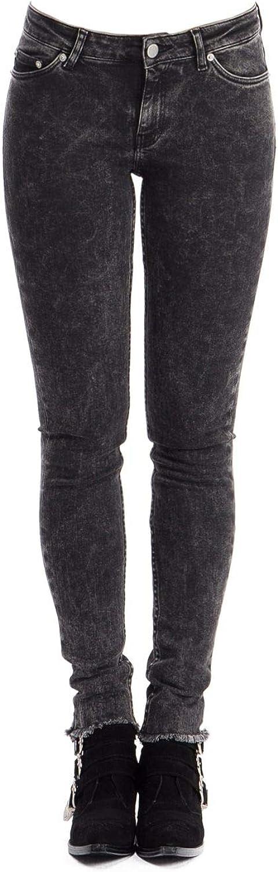 Blk Dnm Women's BFMDJ08BLACK Black Cotton Jeans