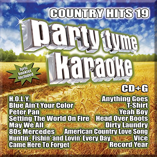 Party Tyme Karaoke - Country Hits 19 [16-song CD+G]