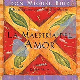 La Maestría del Amor [The Master of Love] audiobook cover art
