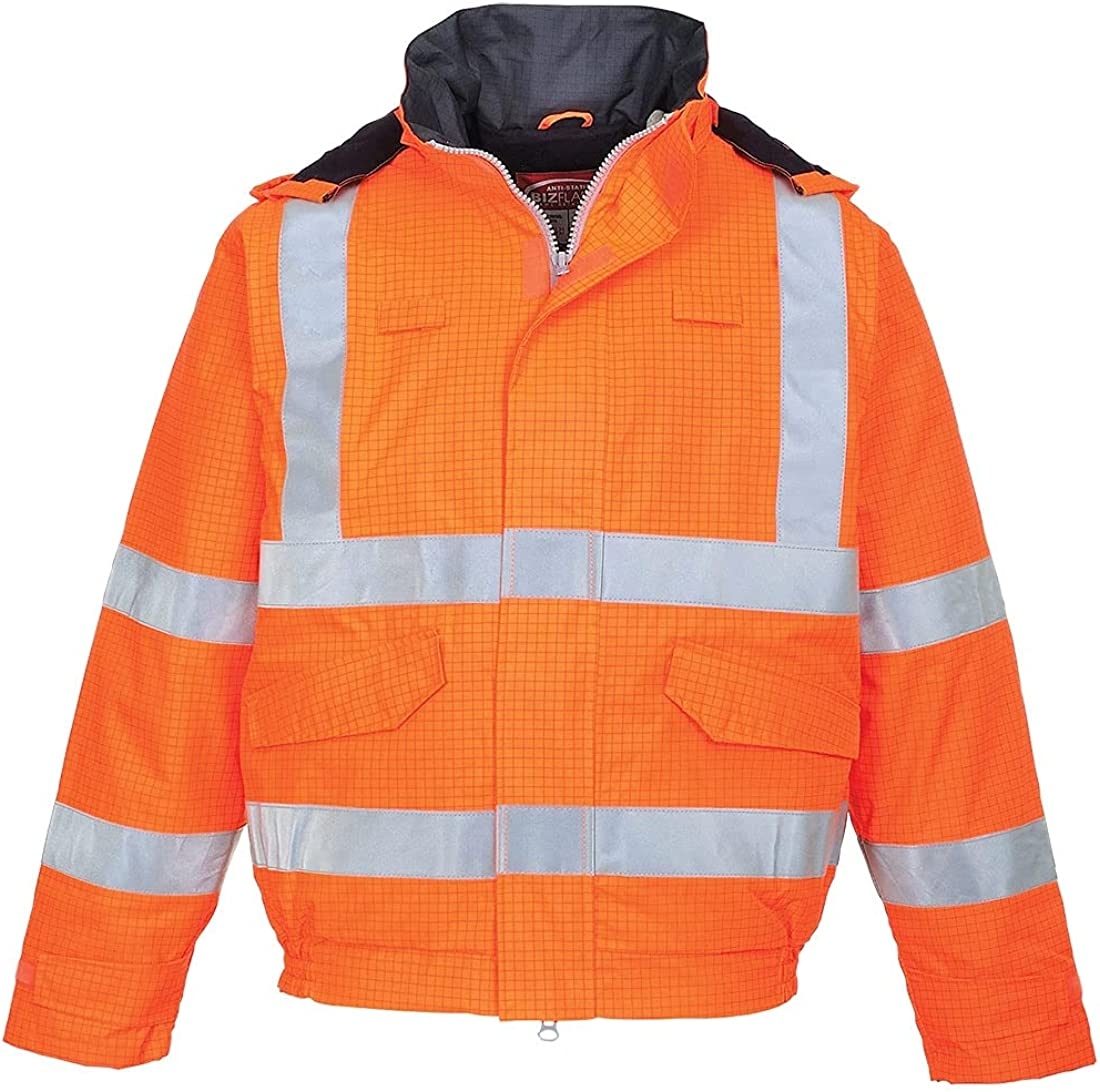 Portwest Workwear Mens Antistatic FR Jacket