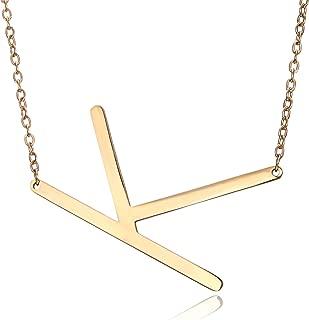 Best large k necklace Reviews