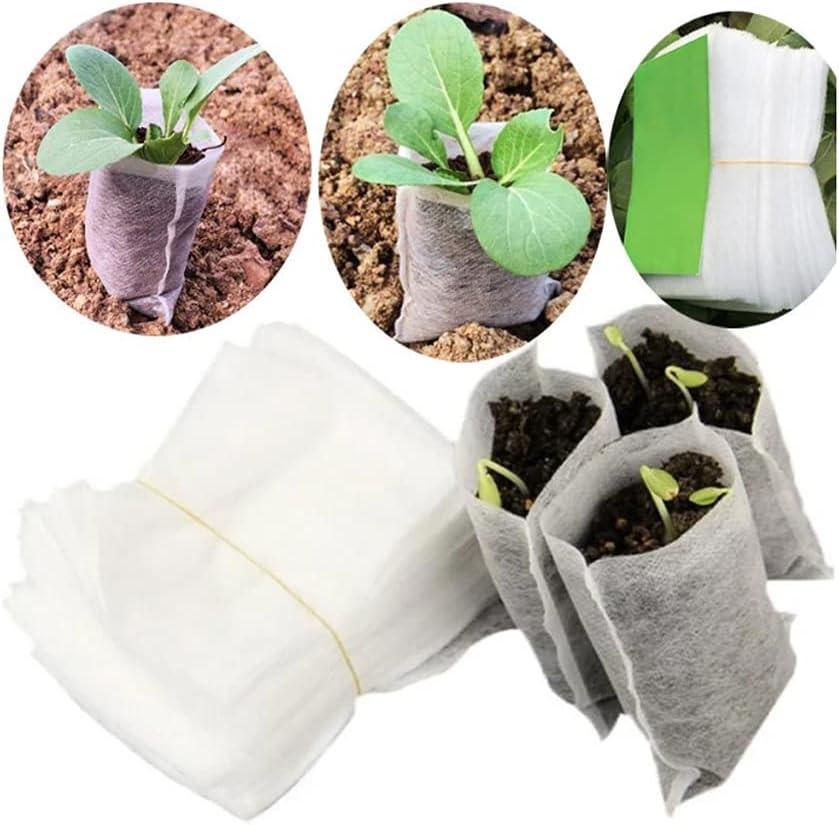 esowemsn Some reservation 200pcs 3.2inch X 3.9inch Nippon regular agency Non-Woven Bag Seedling Nursery