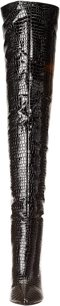 Steve Madden Winnie Harlow x Steve Madden Harlow Over the Knee Boot | Women's shoes | 2020 Newest