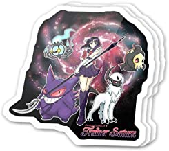Cool Sticker (3 pcs/Pack,3x4 inch) Pretty Guardian Trainer Saturn Superhero Girl Manga Anime Fan Art Stickers for Water Bottles,Laptop,Phone,Teachers,Hydro Flasks,Car