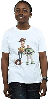 Disney Niños Toy Story Buzz and Woody Standing Camiseta