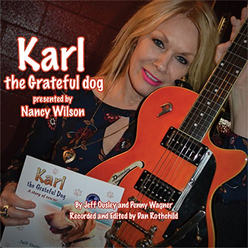 Karl the Grateful Dog audiobook cover art