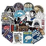 36pcs Star Trek Space Cartoon Graffiti Sticker Travel Box Skateboard Car Waterproof Wallpaper Toys Stickers F3