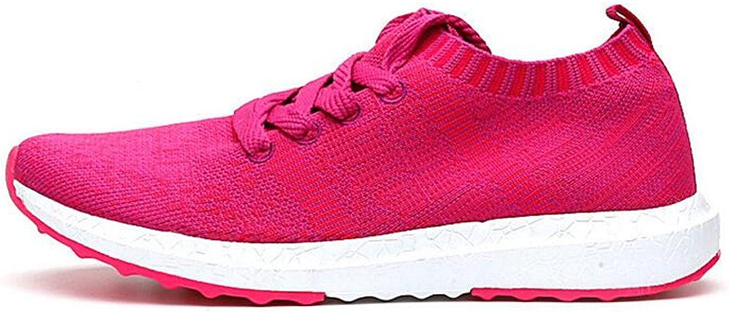 FUN.S Women's Unisex Couple Casual Fashion Sneakers Breathable Athletic Sports shoes Wedges shoes