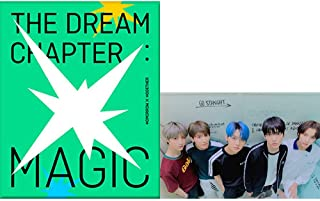 TXT Tomorrow X Together The Dream Chapter : Magic Album (Sanctuary Version) CD+Poster+Photobook+Photocards+Student ID Pad+...