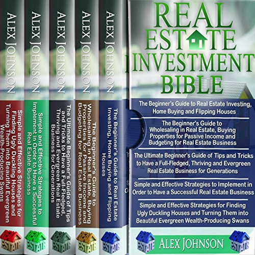 Real Estate Investing Bible: 5 Manuscripts audiobook cover art