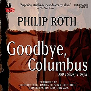 Goodbye, Columbus audiobook cover art