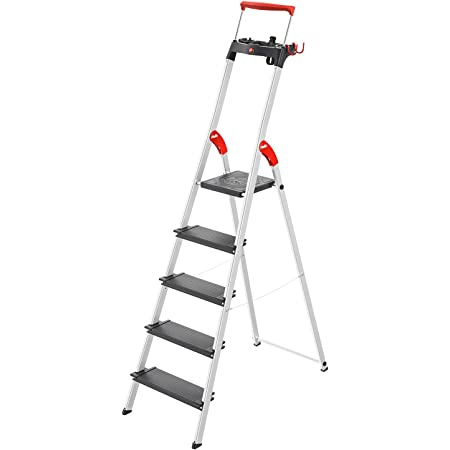 Alu Trittleiter 5 Stufen