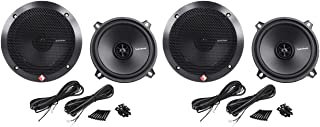 "(2) Pairs Rockford Fosgate R1525X2 5.25"" 2-Way 320 Watt Total Car Audio Speakers"
