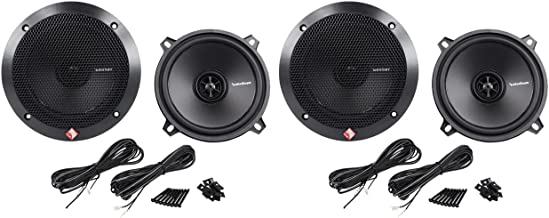 "(2) Pairs Rockford Fosgate R1525X2 5.25"" 2-Way 320 Watt Total Car Audio Speakers photo"