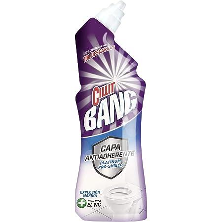 Cillit Bang Platinum Pro-Shield Limpiador WC, aroma Explosión Marina - 700 ml