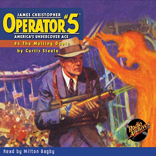 Operator #5 #4 July 1934 audiobook cover art