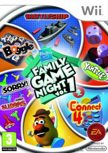 Hasbro Family Game Night (Wii) [import anglais]