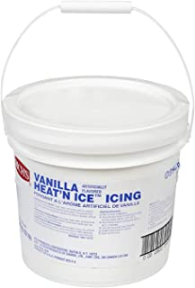 Rich's Heat 'N Ice Donut Icing for Donuts, Rolls & More, Vanilla, 12 lb Pail