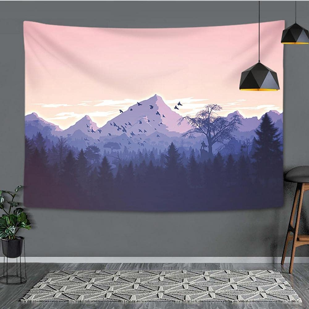 jiuyao Branded goods wall decoration panel curtain 250 SEAL limited product tablecloth sunset