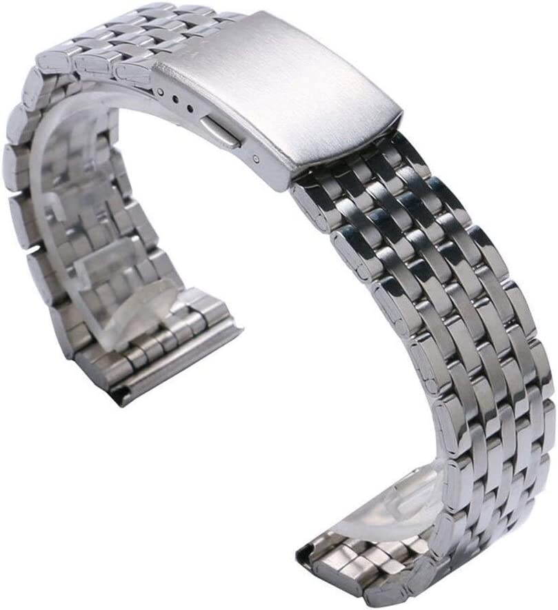 ZJSXIA 18mm 20 Mm 22mm Silver Band Stainless Steel w supreme Strap Memphis Mall Watch