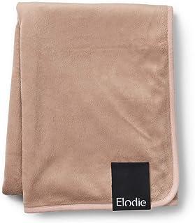 Elodie Details Babyfilt Pärlsammetsfilt - Extra Mjuk Oeko-Tex Fleece - 75 x 100 cm - Faded Rose, Rosa
