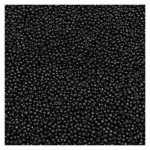 HAIXUE 1000pcs / Lot 1.8mm Alta Standard più Uniforme in Vetro Ceco del Foro del Vetro Perline Perline di Vetro Austria Perline per Gioielli Facendo Bambini Fai da Te (Color : 01)