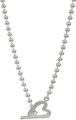 Gucci - Extra-Large Toggle Heart Necklace