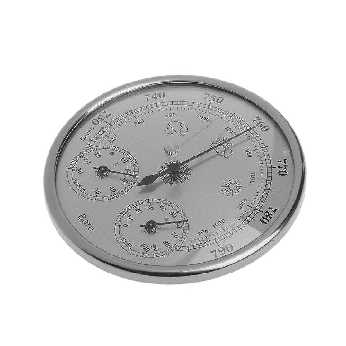 高く油野菜CLCTOIK 130mm大気圧温度湿度計気象台気圧計