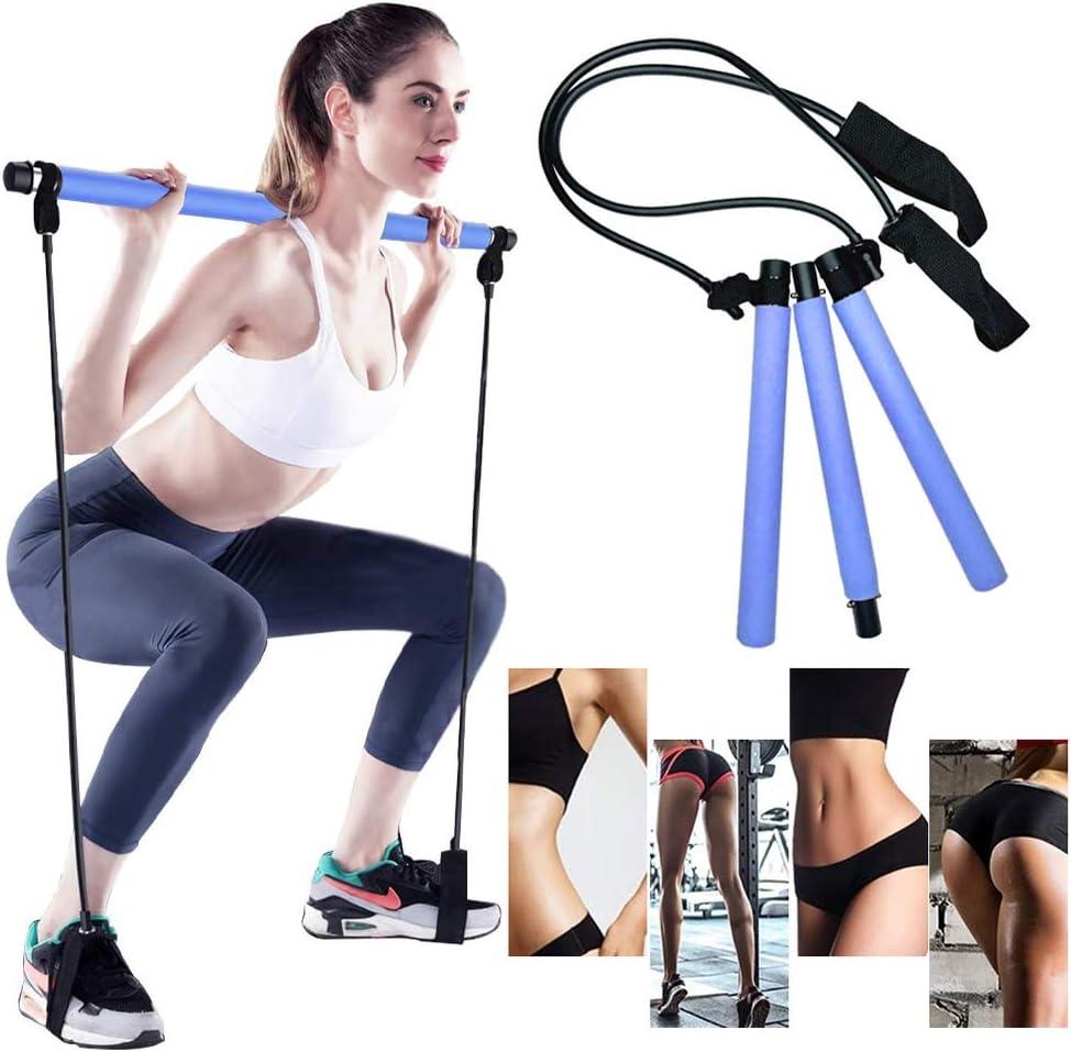 GoMi Portable Pilates Bar Kit [Alternative dealer] with Resistance Band Yoga New product
